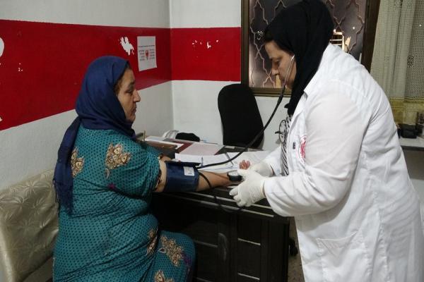 الهلال الأحمر الكردي في ديرك يعزز الواقع الصحي في المنطقة