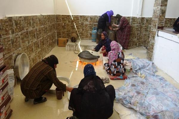 افتتاح أول فرن بإشراف النساء في منطقة الكرامة