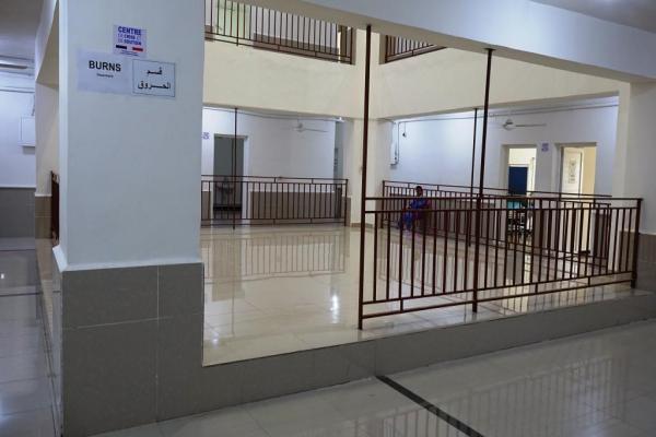 مشفى الرقة الوطني يُوسّع عمله ويفتتح قسمين جديدين