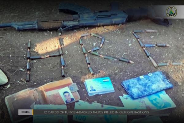القضاء على عدد من عناصر المرتزقة خلال عمليات لقوات تحرير عفرين