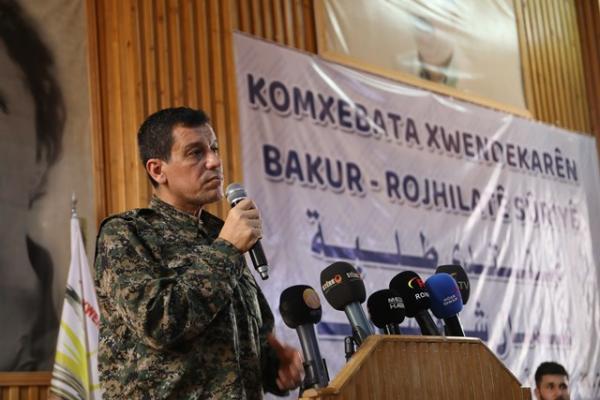 مظلوم عبدي يؤكد أن آلية أمن الحدود هي لمصلحة الشعب السوري