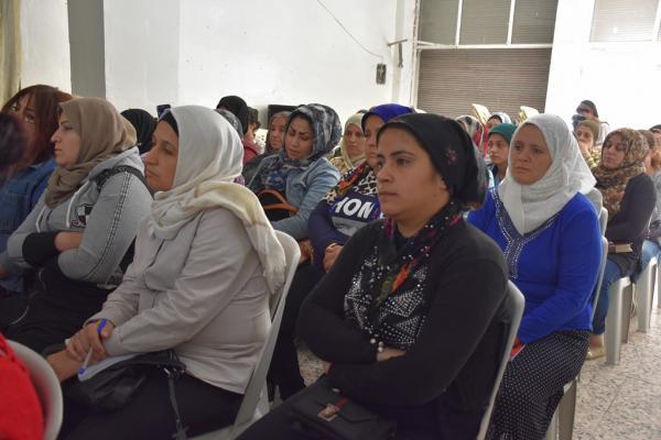 مجلس المرأة السورية يناقش قضايا العنف ضد المرأة مع نساء حلب