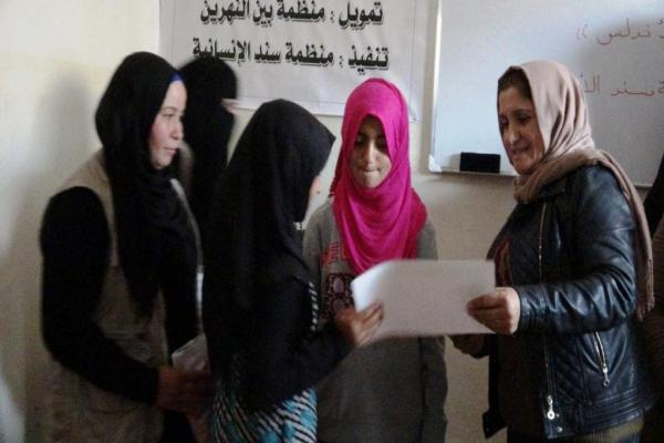 لجنة المرأة في الرقة .. إنجازات حققتها وأخرى قيد التنفيذ