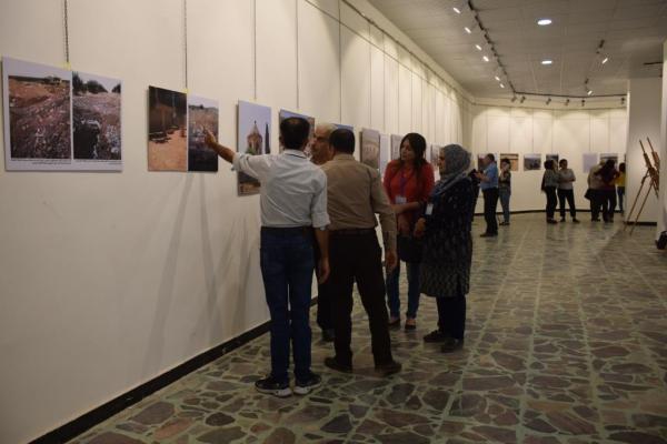 معرض يوثّق المواقع الأثرية المدمرة في عفرين