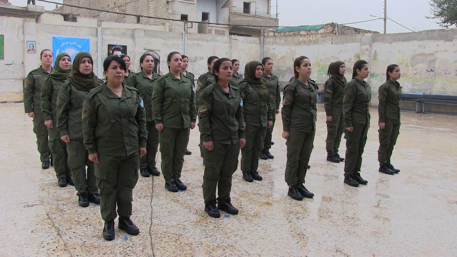 أكاديمية شهداء أسايش حلب تخرج دورة جديدة