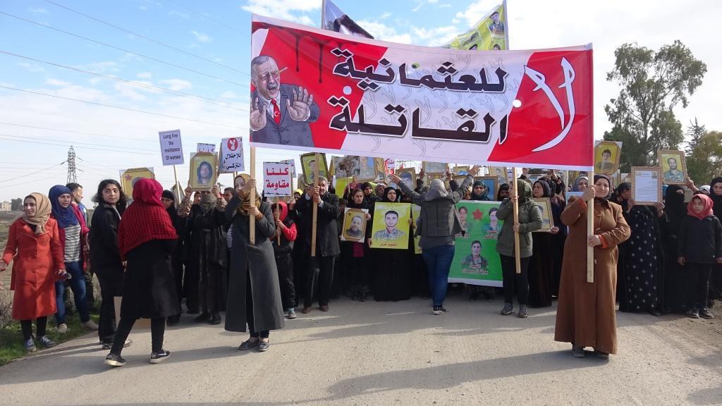 نساء الرقة :بإرادة المرأة الحرة سندحر الإرهاب