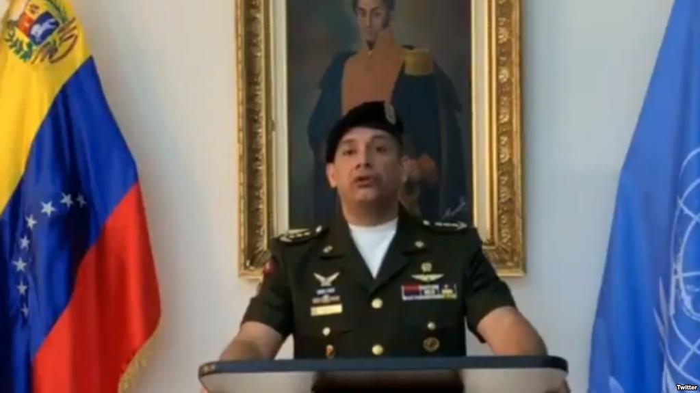 انشقاق الملحق العسكري الفنزويلي بالأمم المتحدة