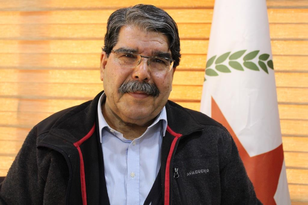 صالح مسلم: عدم الاعتراف بشمال وشرق سوريا هو أساس عدم حل مشكلة معتقلي داعش