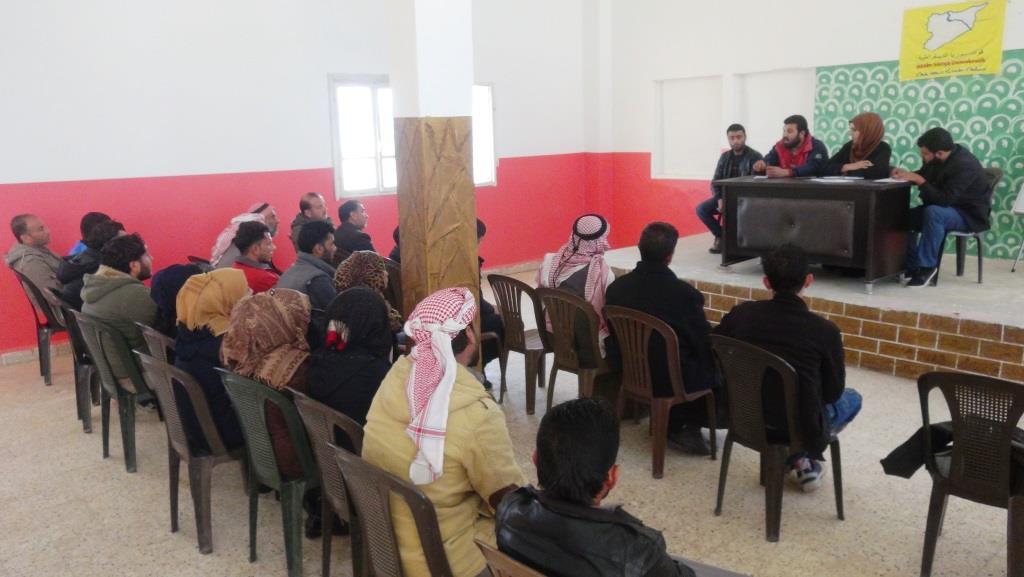 لجنة الخدمات في دير الزور تستقبل 2019 بخطة عمل موسعة
