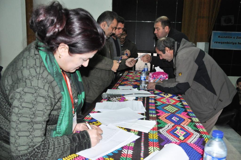 انتخاب إدارة لاتحاد المثقفين في كوباني