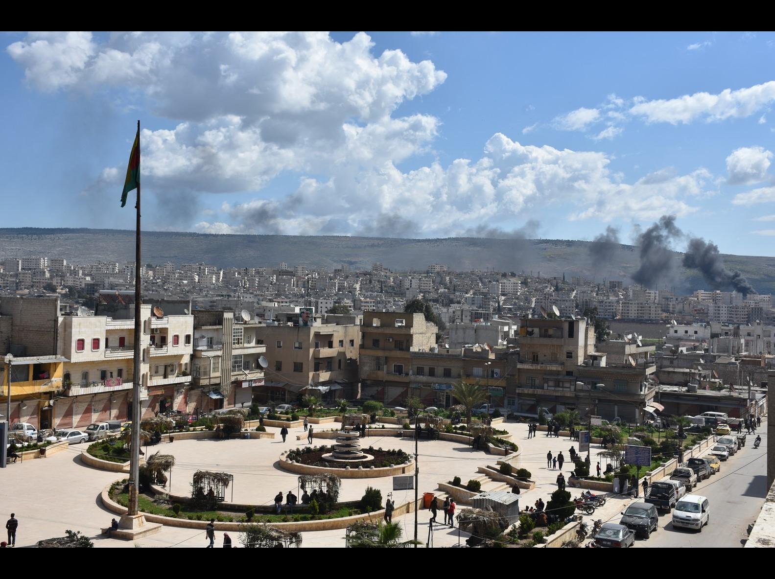 الاحتلال التركي يستغل المرتزقة على حساب أملاك المدنيين