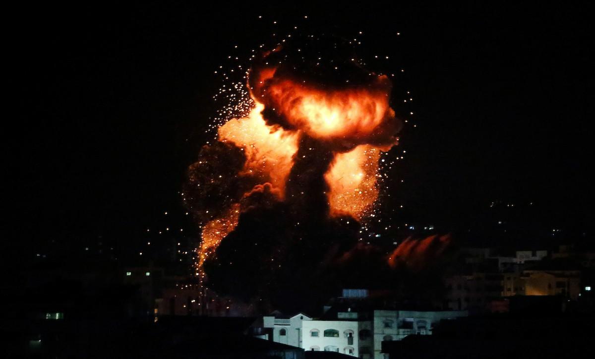 الجيش الإسرائيلي يجدد القصف على غزة