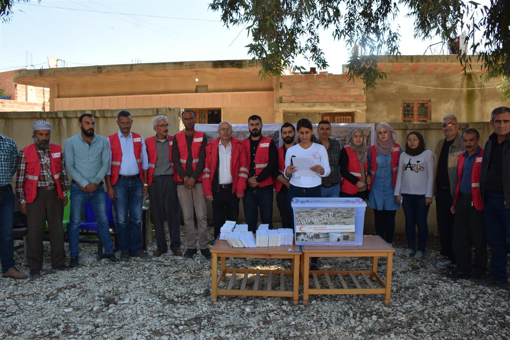 خيمة في ديرك وحملة لجمع التبرعات في الحسكة لمساعدة متضرري فيضانات روجهلات