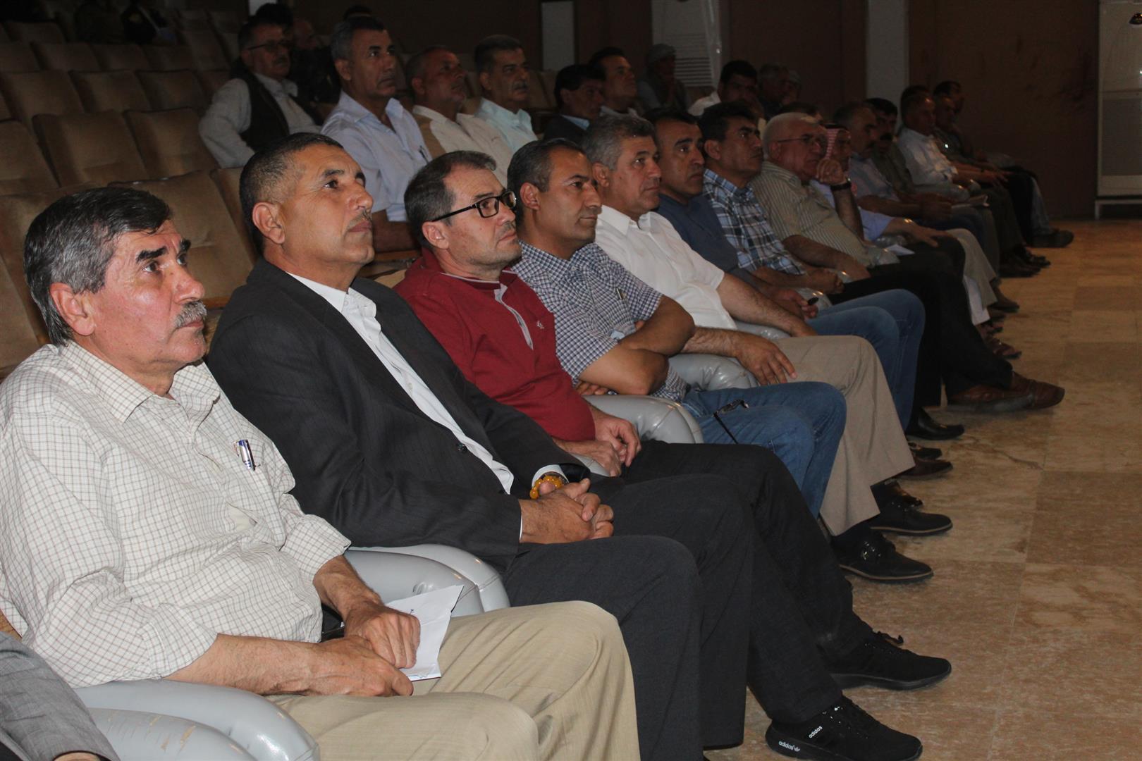 اتحاد مثقفي الجزيرة ومجلس عوائل الشهداء في كركي لكي يحيون يوم الشهيد