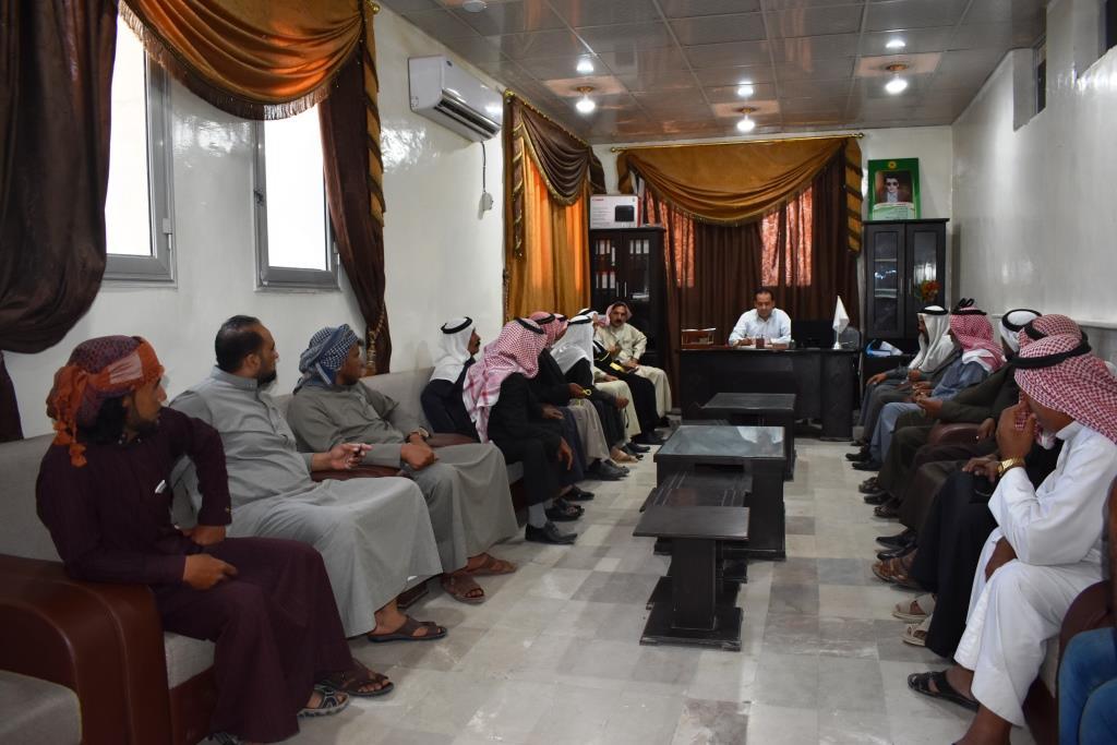 شيوخ ووجهاء دير الزور يقدمون مطالبهم لإدارتهم المدنية