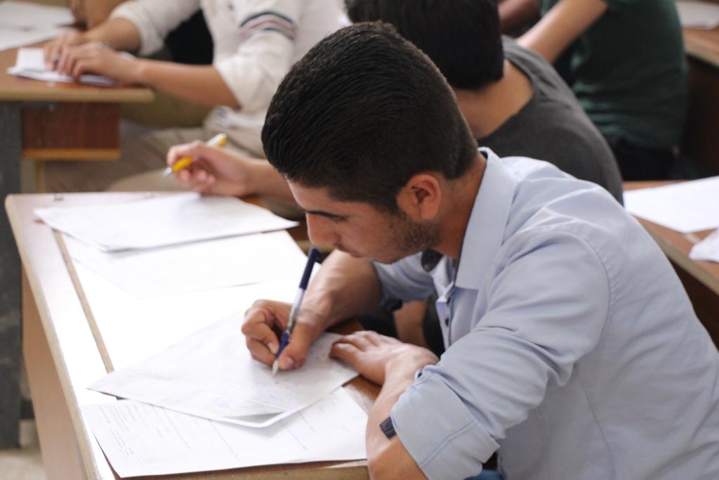 130 ألف طالب وطالبة يقدمون امتحانات نهائية في منبج