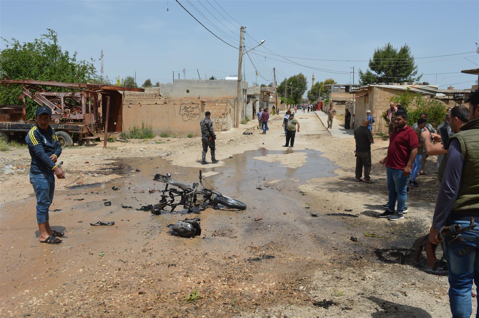 تفجير انتحاري في تل تمر ولا خسائر بشرية – تم التحديث