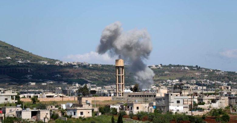 النظام يشن هجوماً جديداً على ريف حماة وسط تمهيد ناري مكثف