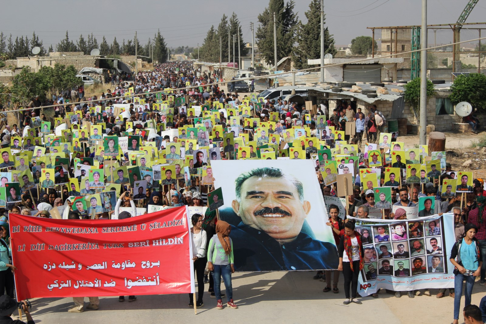 أهالي عفرين والشهباء: بروح مقاومة العصر وشلادزه انتفضوا في وجه الاحتلال التركي
