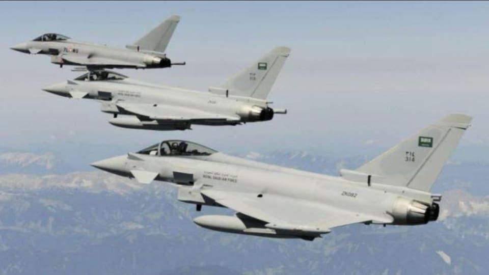 التحالف العربي يدمر مخزن طائرات في صنعاء