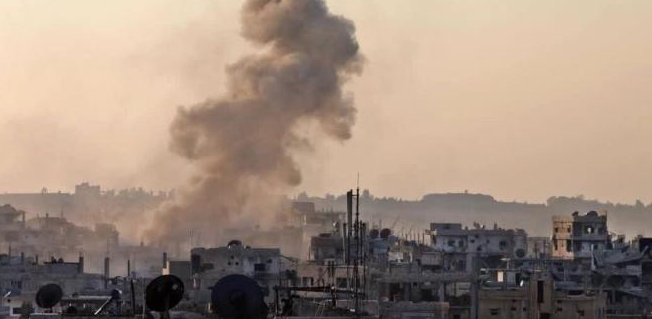 النظام يجدد قصف منزوعة السلاح جوياً وبرياً بعد توقفه لعدة ساعات وسقوط ضحايا مدنيين
