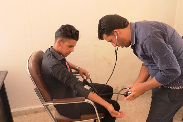 الشبيبة الثورية السورية تفتتح دورة تمريضية بالشدادي