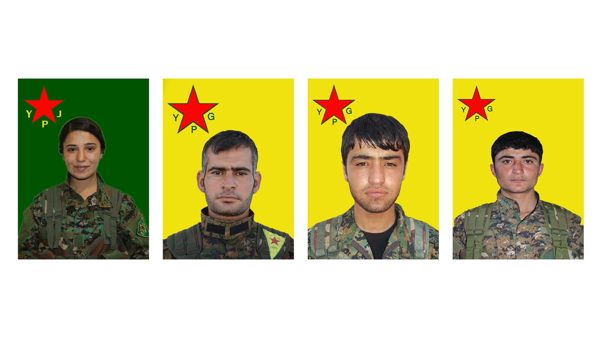 تكشف سجل 4 مقاتلين استشهدوا بسري كانية وعفرين  YPG