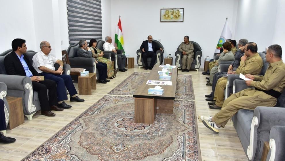 الأحزاب الكردية في روج آفا تجتمع مع الحزب الديمقراطي الكردستاني