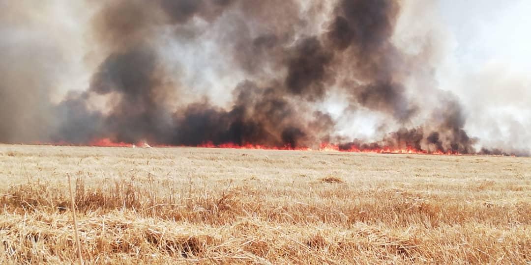 تسجيل عدد من حالات الاختناق والنيران تمتد لداخل قرية دبوس