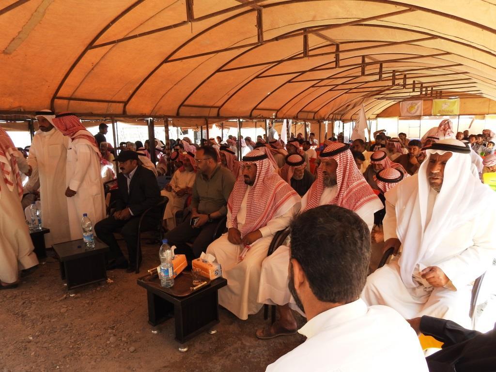 مسد يعقد اجتماعاً مع شيوخ ووجهاء عشائر ريف دير الزور