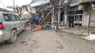 وصول مواطنين فقدا حياتهما خلال تفجير منبج إلى كوباني