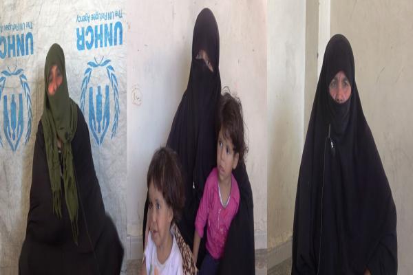 نازحات في ريف دير الزور يُطالبن بتحسين الواقع الخدمي وتأمين فرص عمل