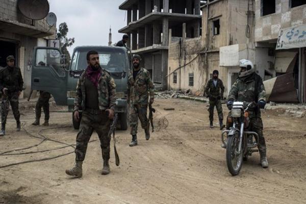 مقتل 4 جنود للنظام في درعا