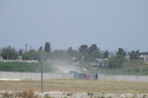 تحركات عسكرية جديدة وعمليات حفر مستمرة على الحدود قبالة كري سبي