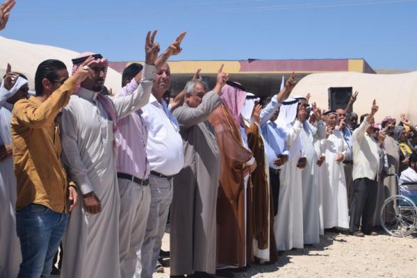 أهالي كري سبي يواصلون اعتصامهم ويؤكدون رفضهم للاحتلال