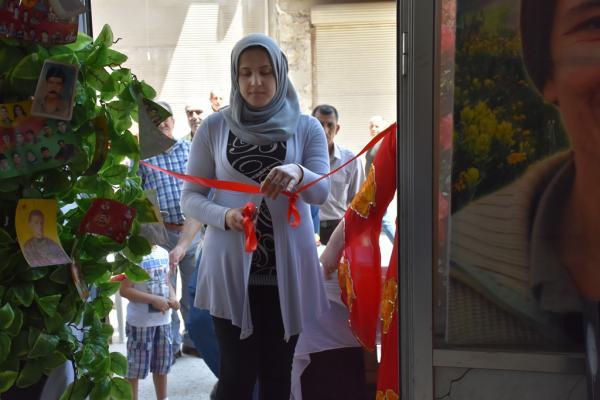 PYD تفتتح معرضاً لكتب القائد أوجلان في حلب