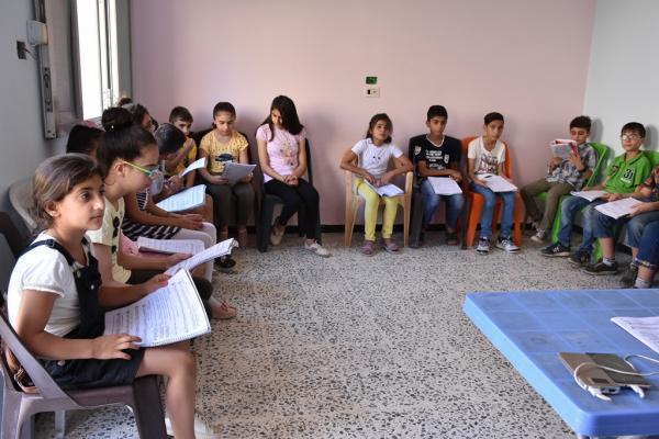 مركز جميل هورو يتيح الفرص أمام الأطفال لتطوير مواهبهم