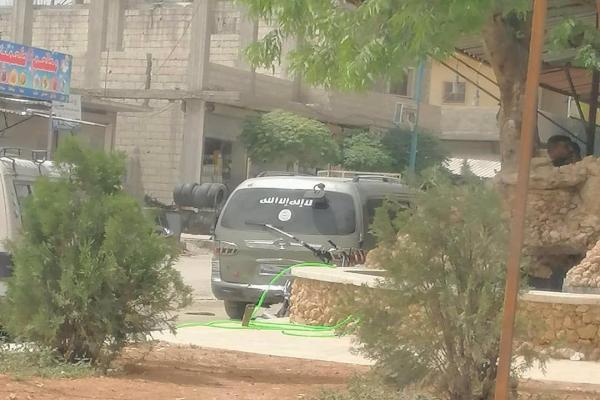 داعش في مدينة جرابلس التي تحتلها تركيا!