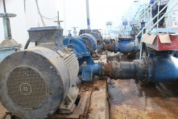 مديرية المياه في الطبقة تبدأ بإعادة تأهيل مضخات مياه الشرب