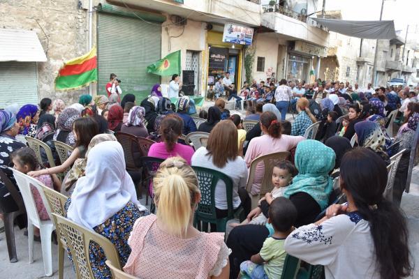 مؤتمر ستار يطلق حملته في حلب بسلسلة من الاجتماعات