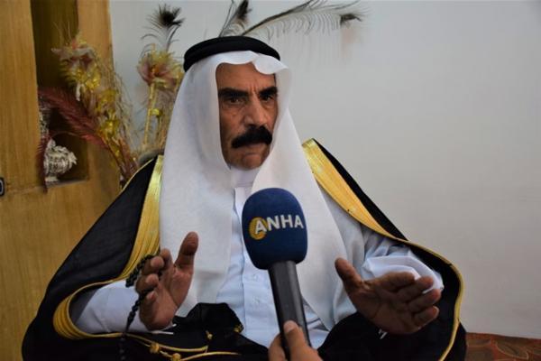 شيخ عشيرة النعيم: تركيا تستهدف المنطقة الممتدة من حلب إلى الموصل