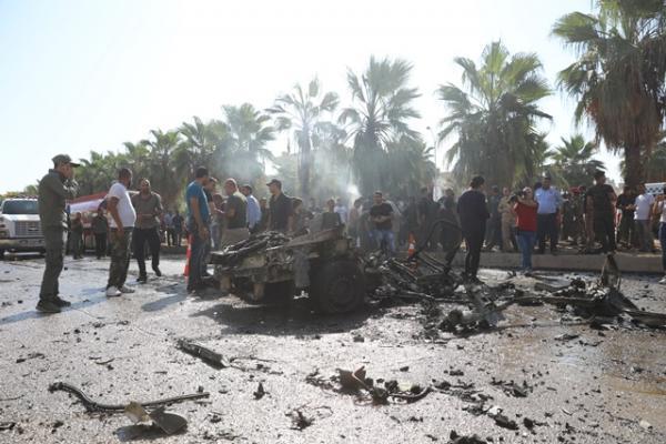 تفجير قامشلو.. استشهاد عضو في قوى الأمن الداخلي وإصابة اثنين
