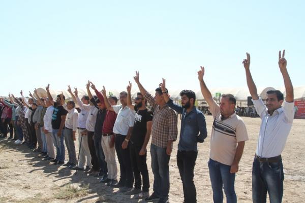 33 يوماً... الفعاليات ضد التهديدات التركية مستمرة