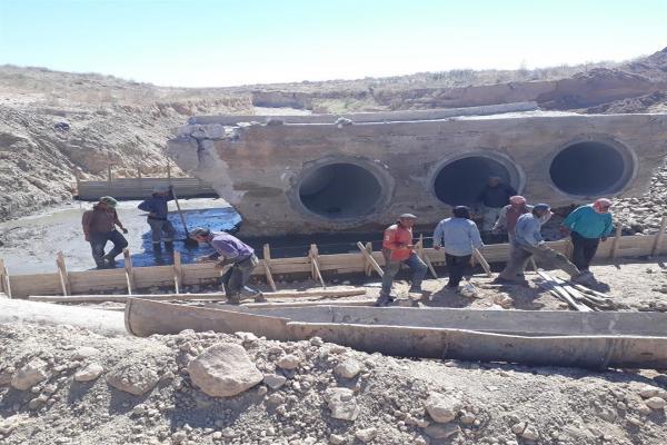 لجنة البيئة والبلديات في مقاطعة الحسكة تُعيد تأهيل 12 عبارة و 4 جسور