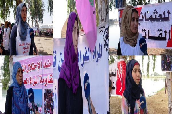 النساء الرقاويات: لن نسمح لتركيا بتجزئة الأراضي السورية