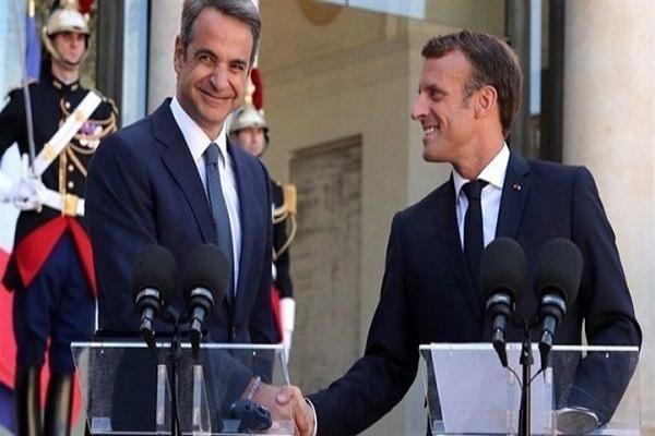 ماكرون يؤكد عدم تسامح الاتحاد الأوروبي وفرنسا مع التصرفات التركية