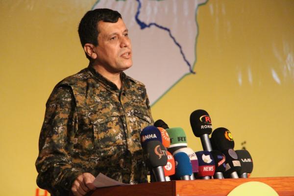 مظلوم عبدي: اجتماعنا هو لبناء قوة تكون ضمانة لسوريا حرة موحدة