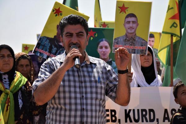 من خيمة الدروع البشرية: مكوّنات المنطقة ستقف أمام تهديدات المحتل التركي