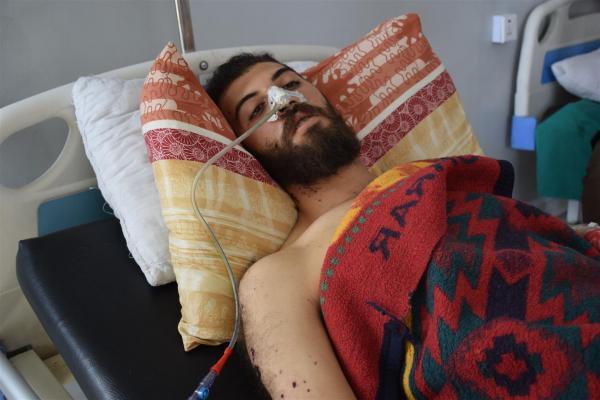 صحفي أصيب في سريه كانيه: رغم علمهم بأن القافلة مدنية استهدفوها في السوق