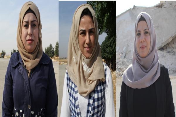 نساء الشهباء: ممارسات الاحتلال لن تكسر إرادتنا ومستمرون في دعم قواتنا
